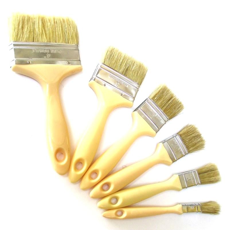 Laminating Brushes Plastic Handle