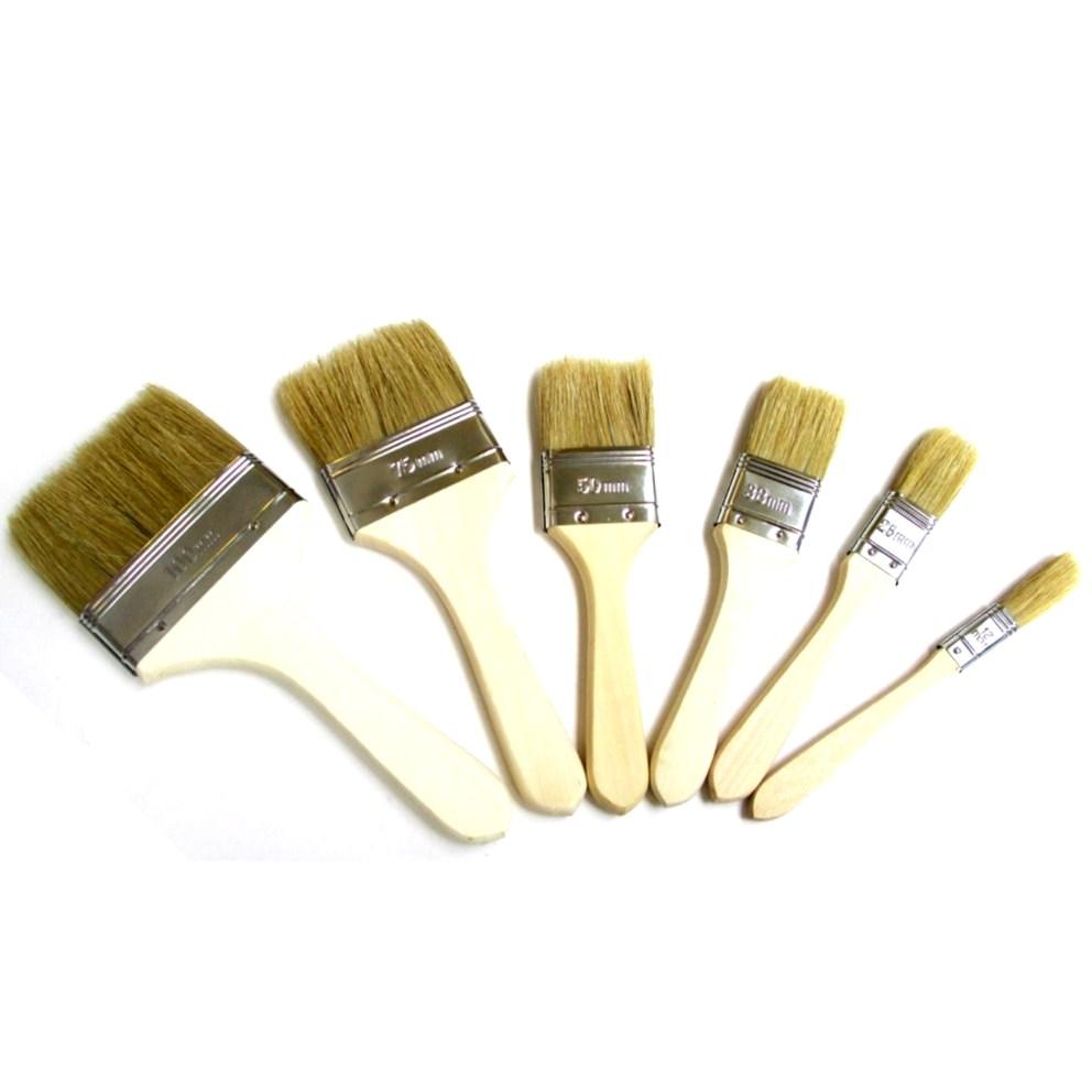 Laminating Brushes Wooden Handle
