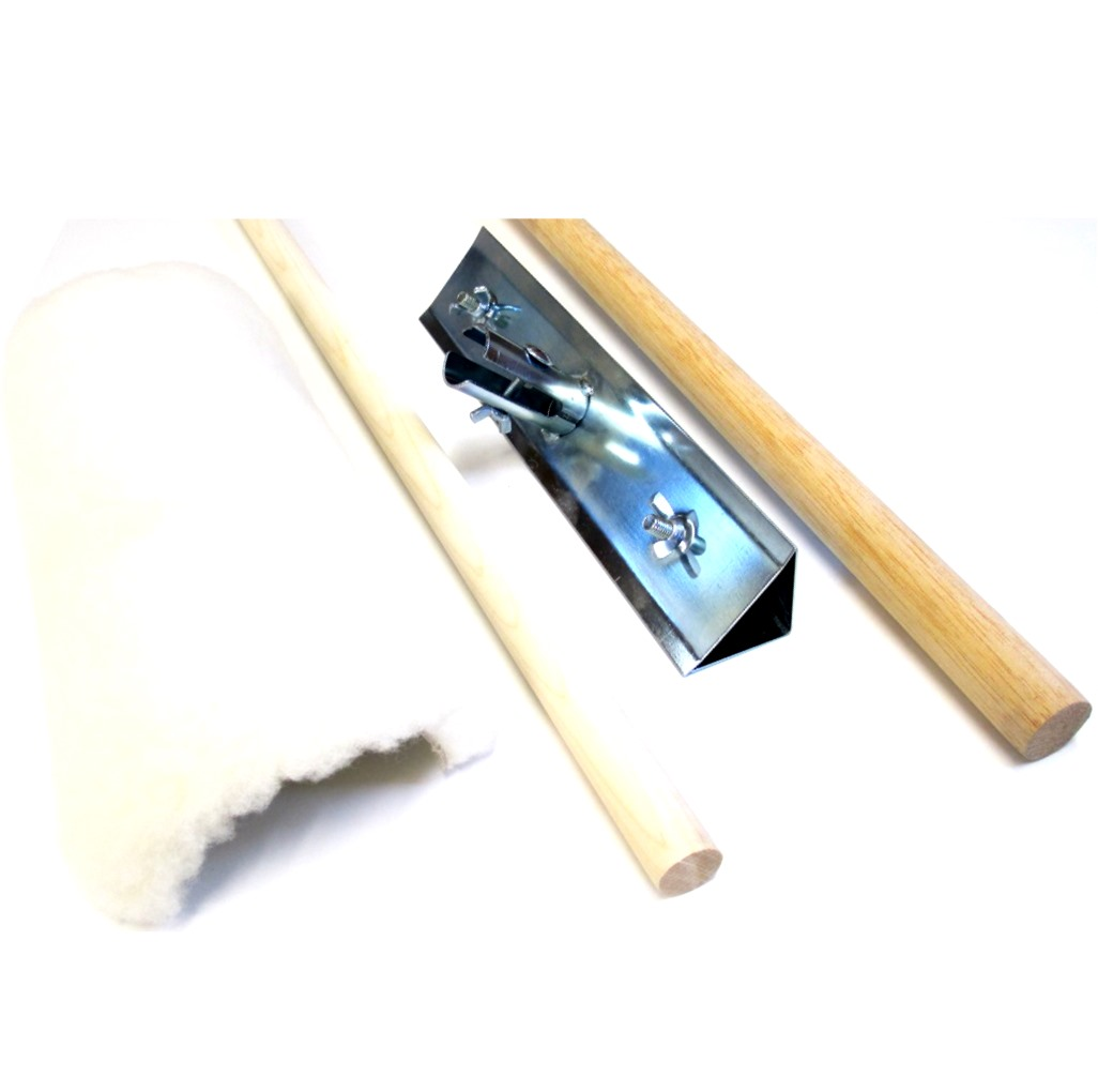 Sheepskin Floor Polish Applicators