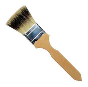 Badger Hair Brushes Flat & Round