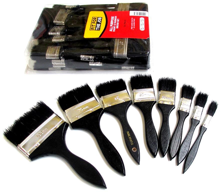 Throwaway Paint Brushes