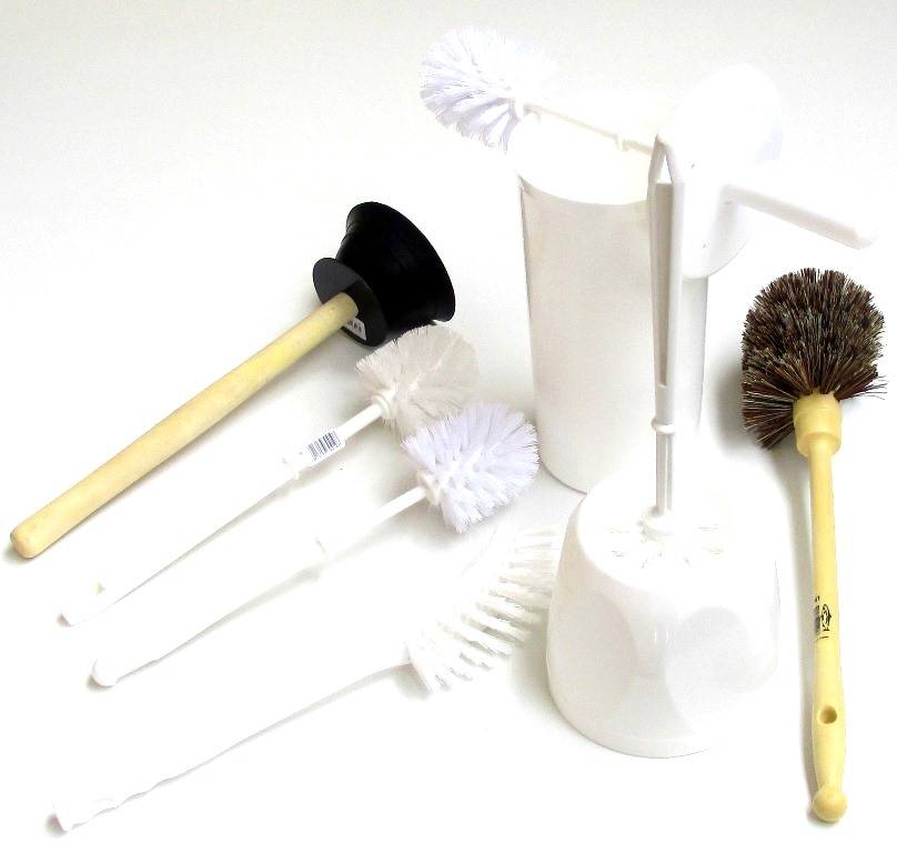 Toilet Brushes, Sets & Plungers