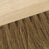 Soft Natural Coco Platform Brooms