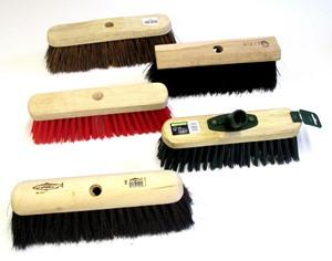 Small Semi & Stiff Sweeping Broom Heads
