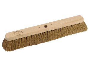 "24"" NAT COCO SOFT PLATFORM BROOM"