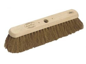 "18"" NAT COCO SOFT PLATFORM BROOM"