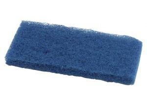 BLUE MEDIUM ABRASIVE PAD