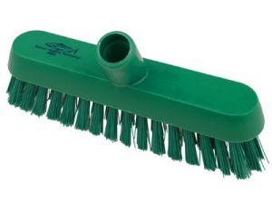 230mm HYG.V/STIFF DECK SCRUB - GREEN