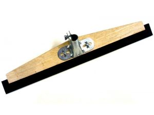 """18""""  WOODEN SQUEEGEE + RUBBER(B950.18+HBSF)"""