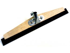 """24""""  WOODEN SQUEEGEE + RUBBER(B950.24+HBSF)"""