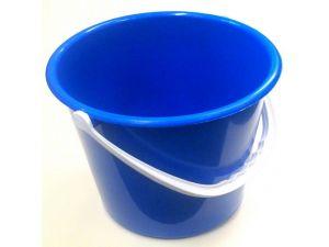 10 LITRE PLASTIC BUCKET-BLUE