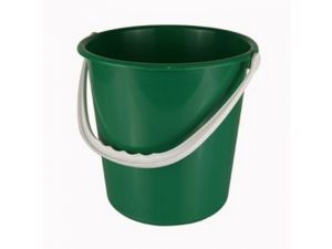 9 LITRE PLASTIC BUCKET-GREEN(MBK8G)