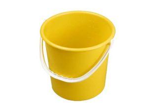 10 LITRE PLASTIC BUCKET-YELL
