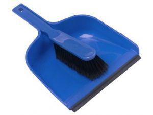 DUSTPAN & BRUSH SET-SOFT BLUE