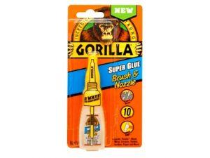 12g GORILLA S/GLUE BRUSH & NOZZLE(GGSGBN12)
