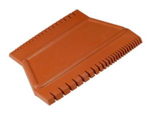 "GRADUATED RUBBER COMB 3.5""/4.5""(GTGRC5)"