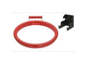 HANDY HOOP PLASTIC RED + BRACKET(HH3R)