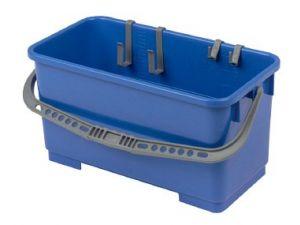 25L H/DUTY PLASTIC BUCKET - BLUE