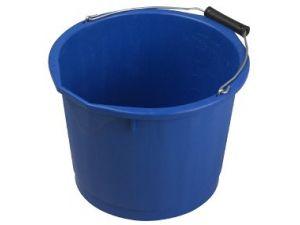 15L H/DUTY PLASTIC BUCKET - BLUE