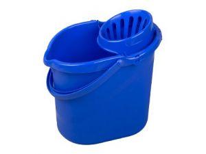 H/D PLASTIC MOP BUCKET-BLUE