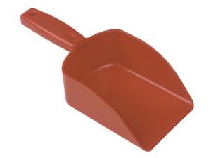 HAND SCOOP 240x60X110X145mm - RED