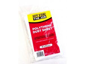 12' x 9' PLASTIC DUST SHEET(SDP)