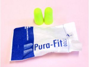 EAR PLUGS - TAPERED FOAM (PAIR)