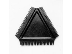 TRIANGULAR RUBBER GRAINING COMB(GTTRGC)