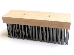 "12"" STEEL WIRE FLAT TOP BROOM(W58.12)"