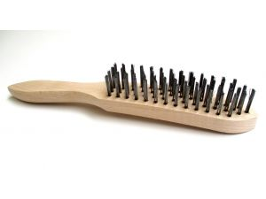 4 ROW CONTRACT WIRE HAND BRUSH