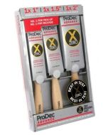 PRODEC ZERO PAINT BRUSH SET 3 PCE(PXZSET3)